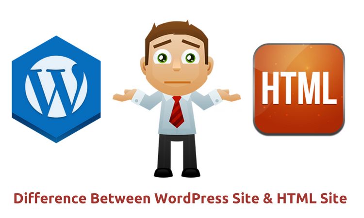 What's The Major Difference Between a WordPress Site and HTML Static Site